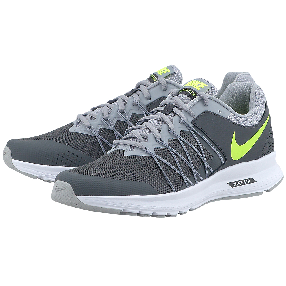 Nike - Nike Air Relentless 6 843836009-4 - ΓΚΡΙ ΣΚΟΥΡΟ