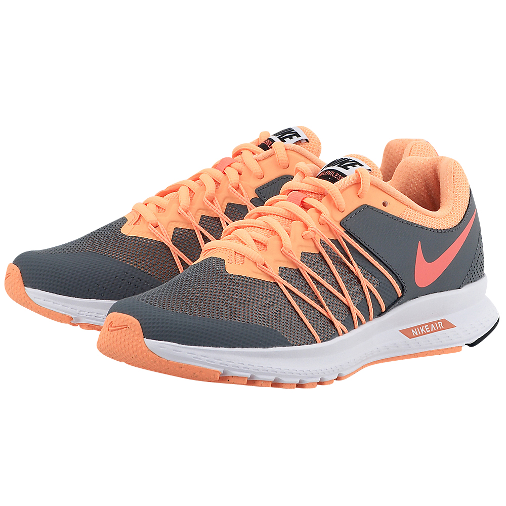 Nike - Nike Air Relentless 6 Running Shoe 843882006-3 - ΓΚΡΙ/ΠΟΡΤΟΚΑΛΙ
