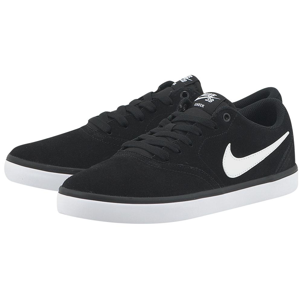 Nike – Nike SB Check Solarsoft Skateboarding 843895001-4 – ΜΑΥΡΟ
