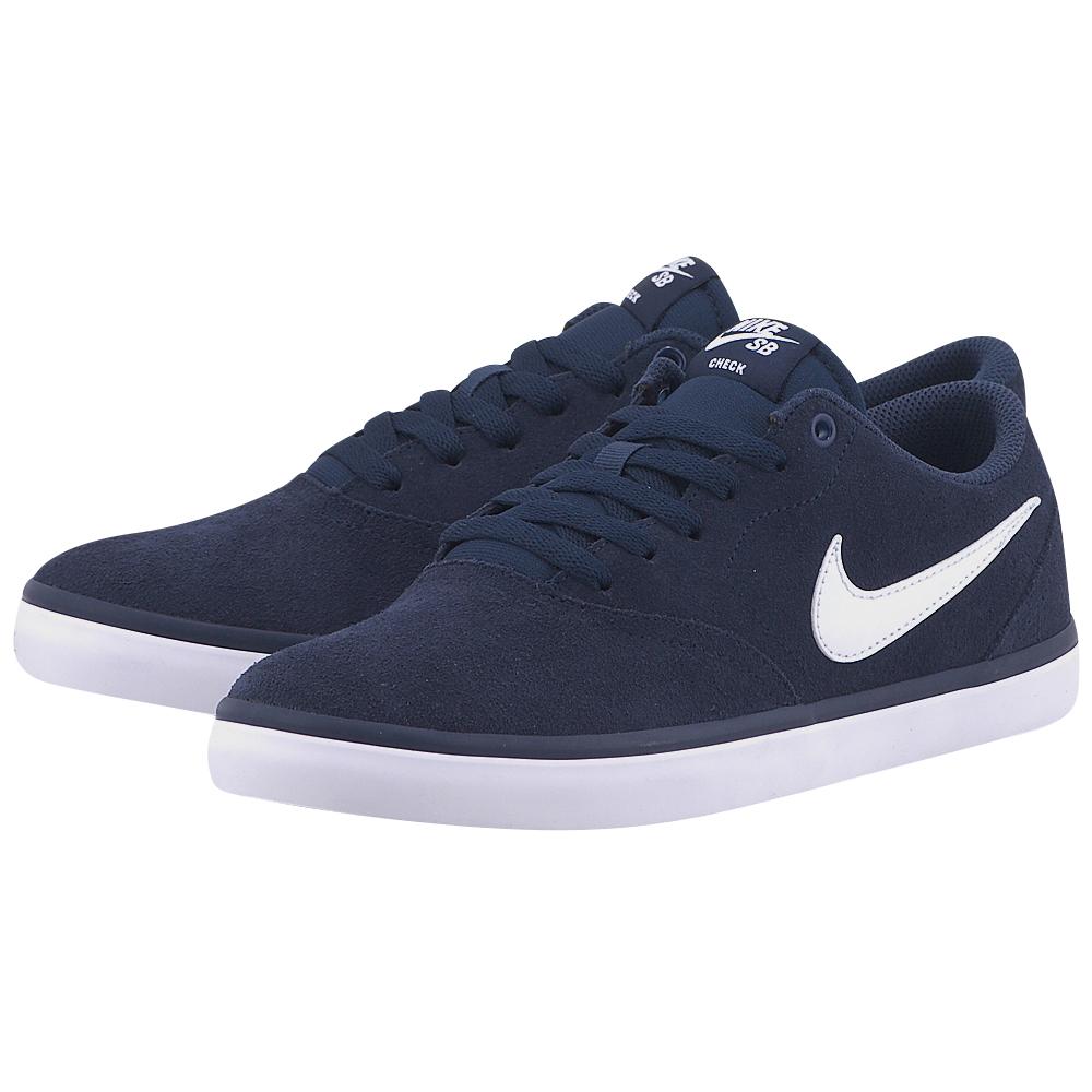 Nike – Nike Sb Check Solar 843895400-4 – ΜΠΛΕ ΣΚΟΥΡΟ