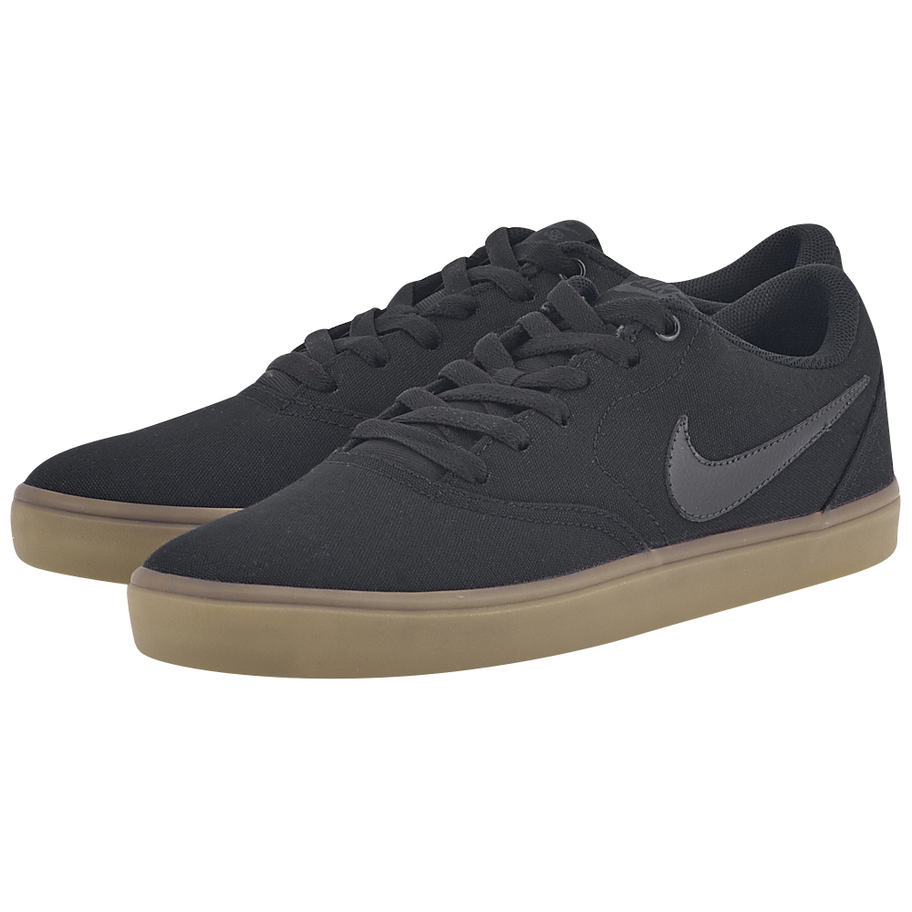 Nike - Nike SB Check Solarsoft Canvas Skateboarding 843896-009 - ΜΑΥΡΟ ανδρικα   αθλητικά   skateboarding