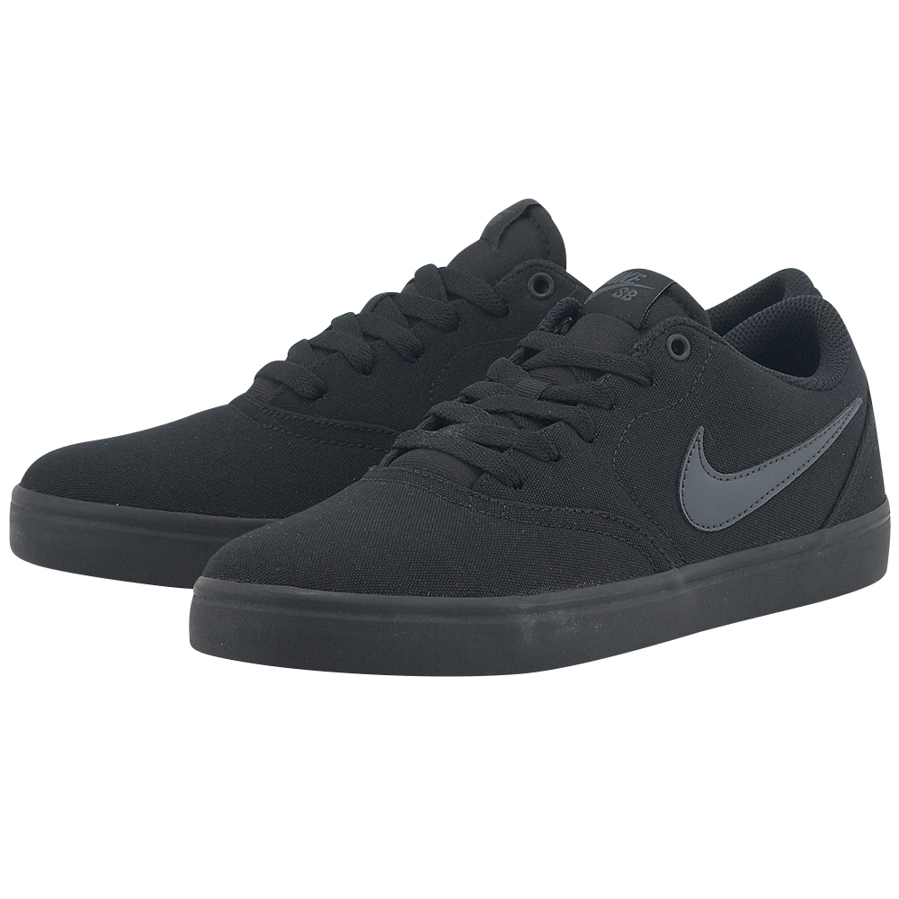 Nike – Nike SB Check Solarsoft Canvas Skateboarding 843896002-4 – ΜΑΥΡΟ