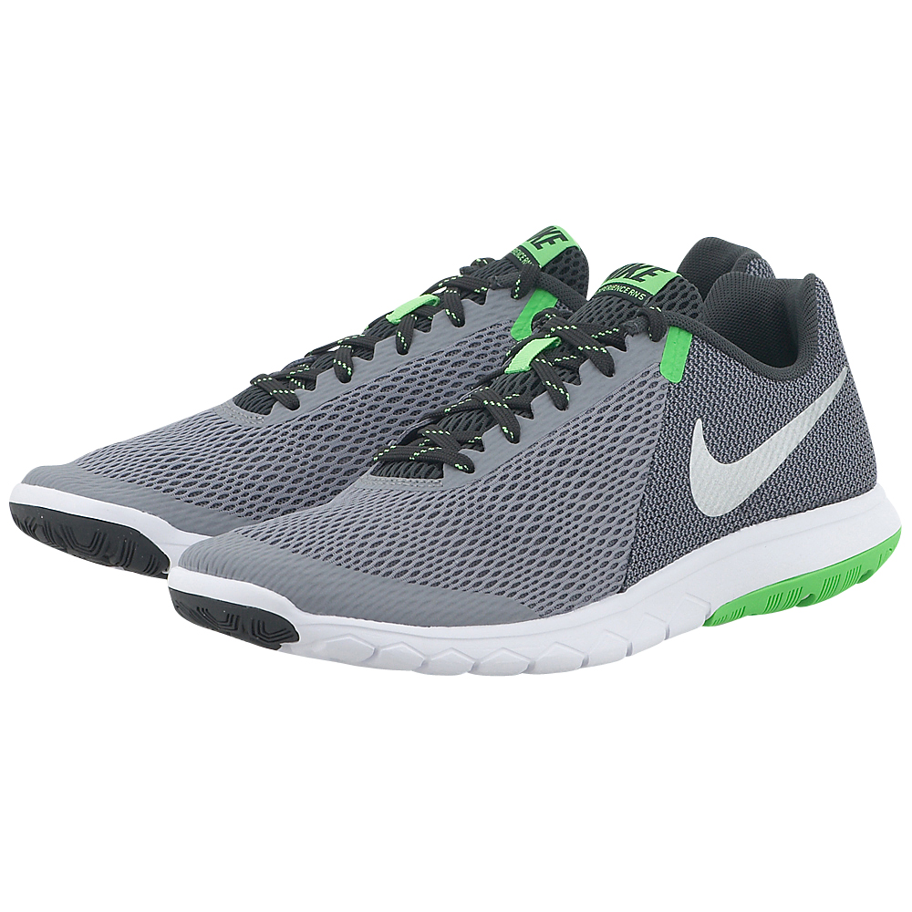 Nike - Nike Flex Experience RN 5 844514003-4 - ΓΚΡΙ ΣΚΟΥΡΟ