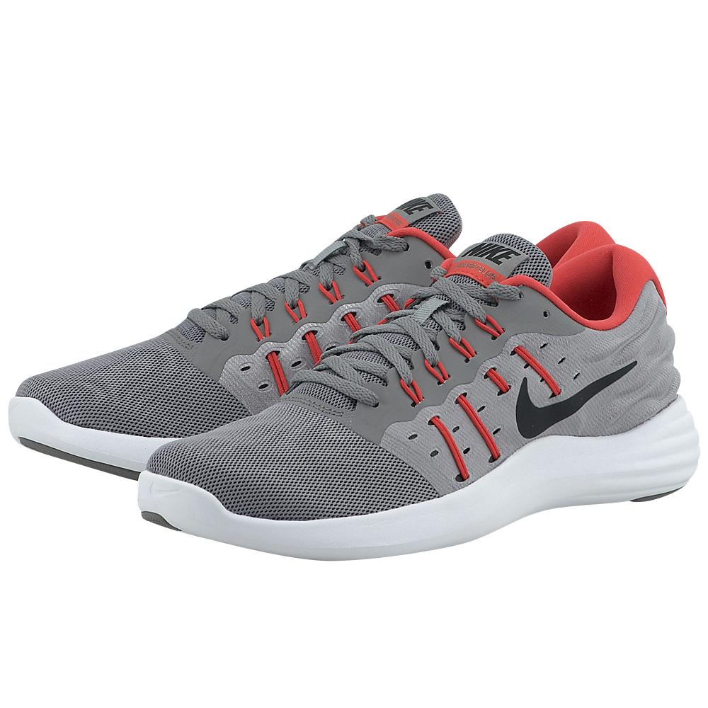 Nike – Nike LunarStelos Running 844591009-4 – ΓΚΡΙ