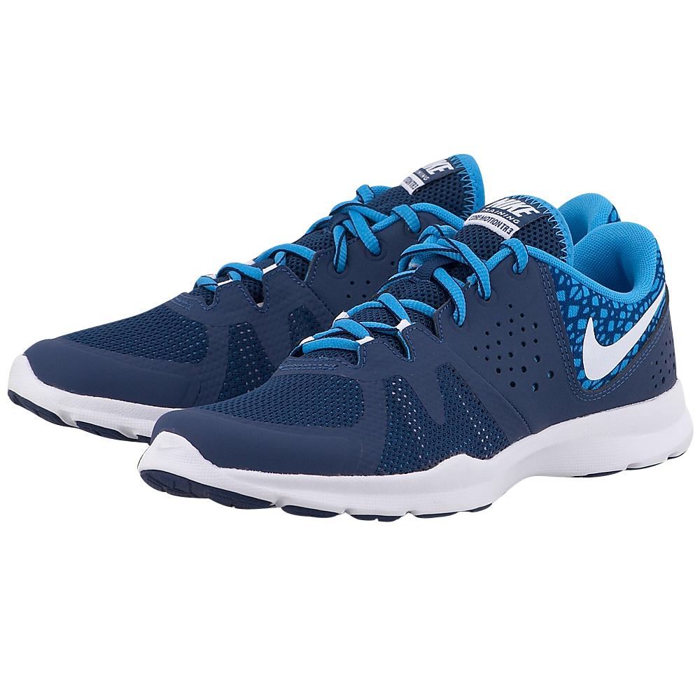 Nike - Nike Core Motion 3 844658400-3 - ΜΠΛΕ ΣΚΟΥΡΟ γυναικεια   αθλητικά   training