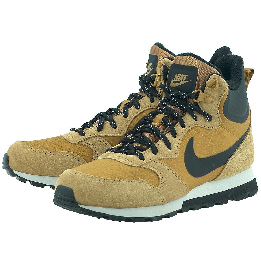 Nike - Nike Men's MD Runner 2 Mid Premium 844864-701 - ΚΑΜΕΛ
