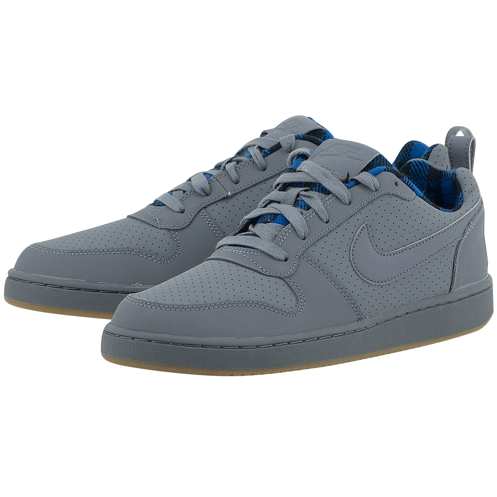 Nike – Nike Court Borough 844881003-4 – ΓΚΡΙ ΣΚΟΥΡΟ