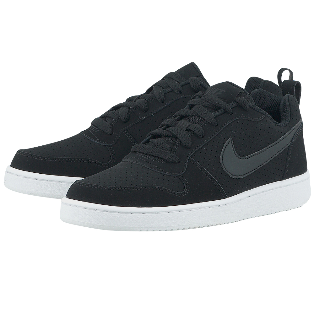 Nike – Nike Court Borough Low 844905-001 – ΜΑΥΡΟ