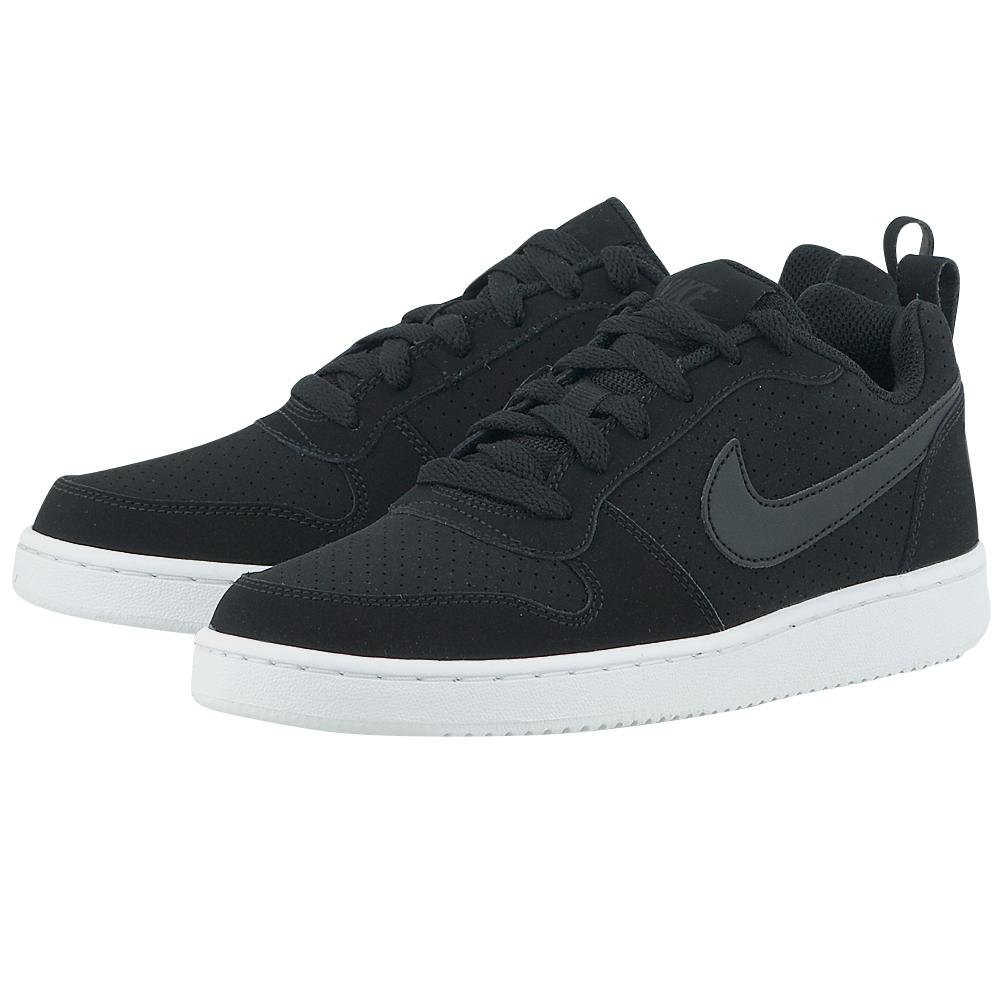 Nike – Nike Court Borough Low 844905-001 – ΜΑΥΡΟ
