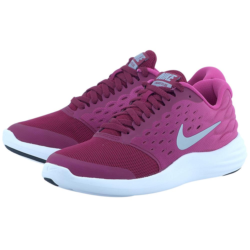Nike - Nike Lunarstelos (GS) Running Shoe 844974500-3 - ΜΠΟΡΝΤΩ