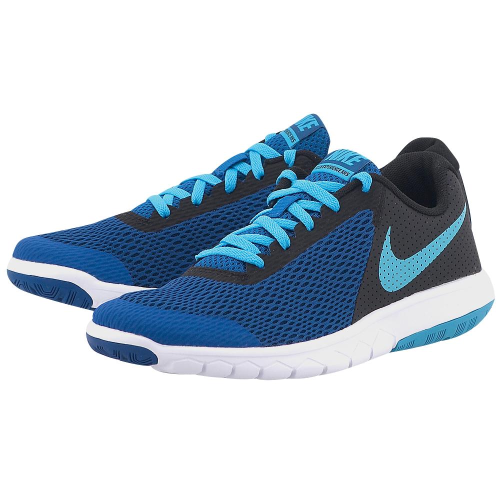 Nike - Nike Flex Experience 5 (GS) Running 844995-405 - ΜΠΛΕ ΣΚΟΥΡΟ
