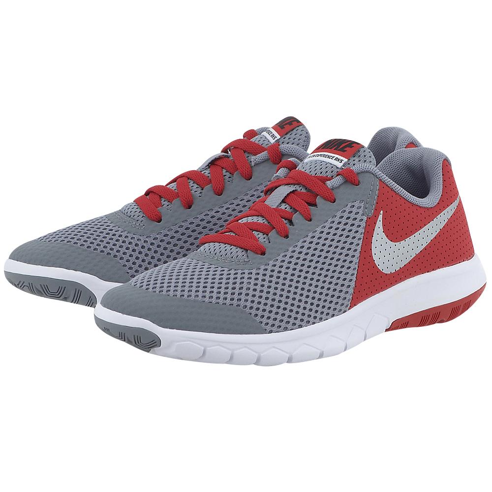 Nike - Nike Flex Experience 5 (GS) Running Shoe 844995004-3 - ΓΚΡΙ ΣΚΟΥΡΟ