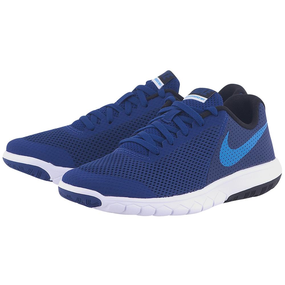 Nike – Nike Flex Experience 5 (GS) Running Shoe 844995400-3 – ΜΠΛΕ ΣΚΟΥΡΟ