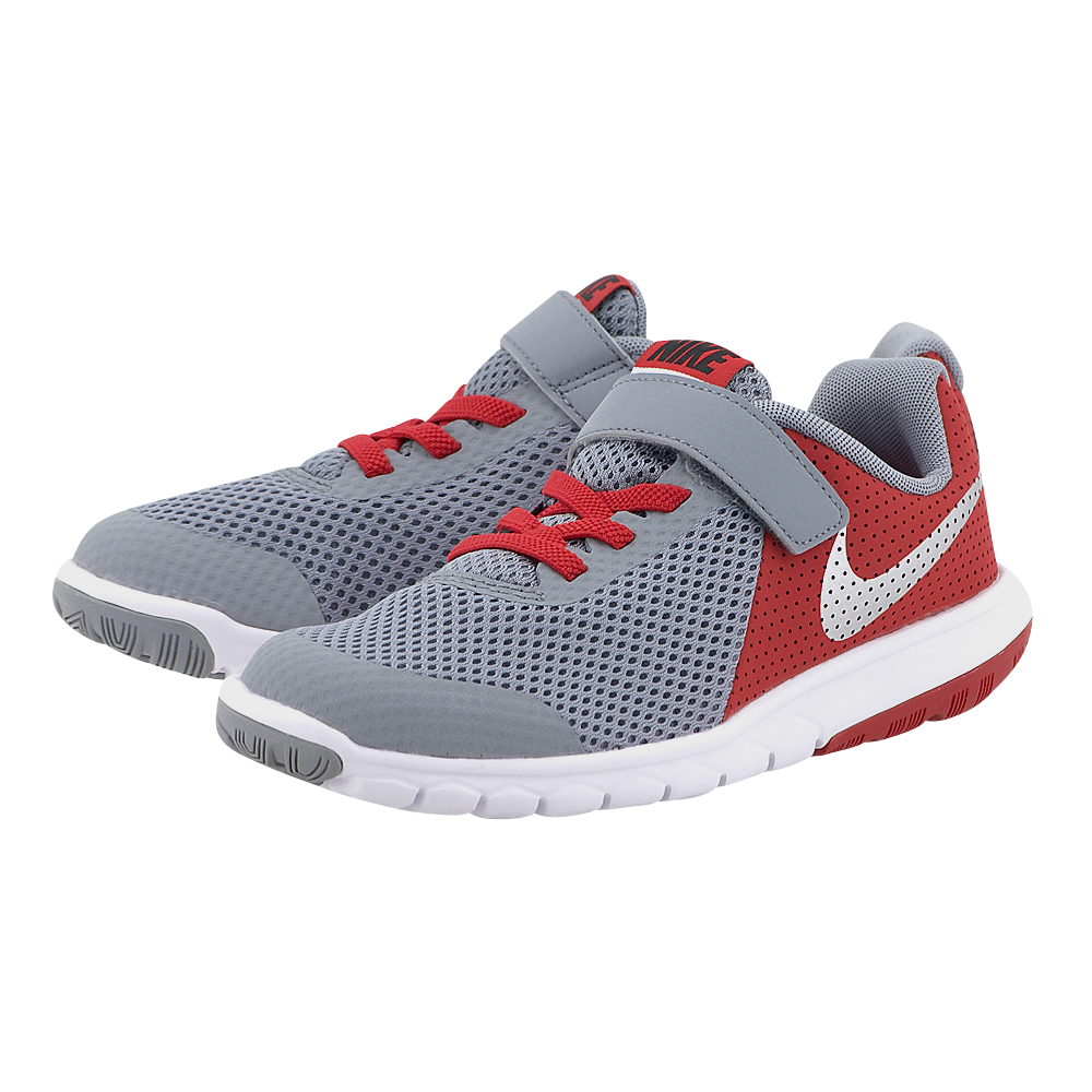 Nike – Nike Flex Experience 5 (PSV) 844996-004 – ΓΚΡΙ/ΚΟΚΚΙΝΟ