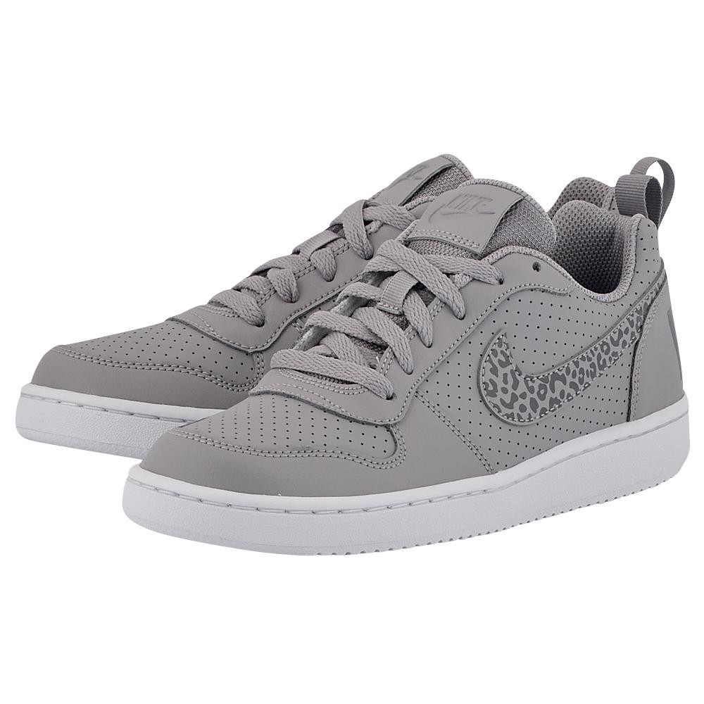 Nike - Nike Court Borough Low (GS) 845104-002 - ΓΚΡΙ