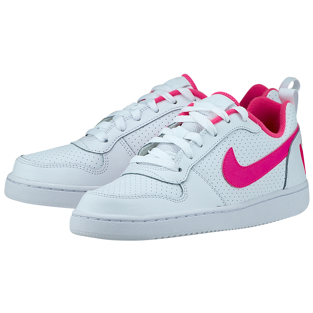Nike - Nike Court Borough Low (GS) 845104-100 - ΛΕΥΚΟ
