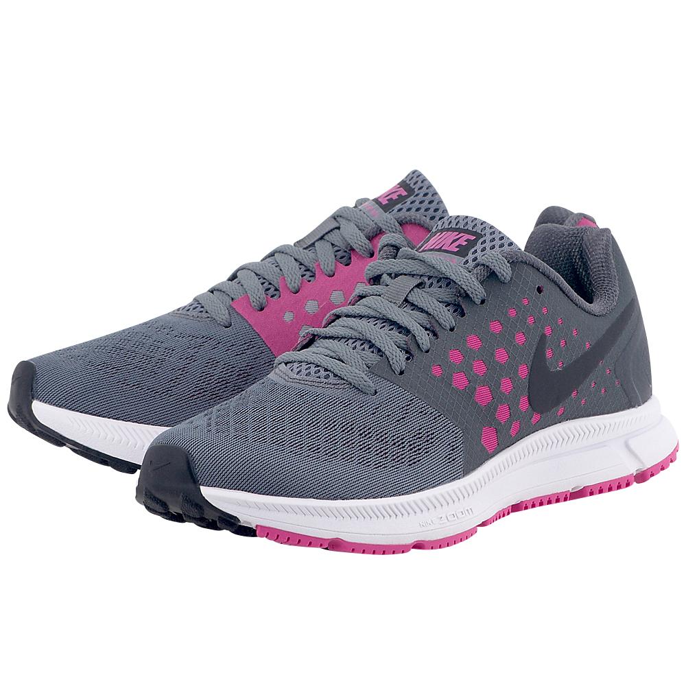 Nike – Nike Zoom Span 852450002-3 – ΓΚΡΙ/ΜΩΒ