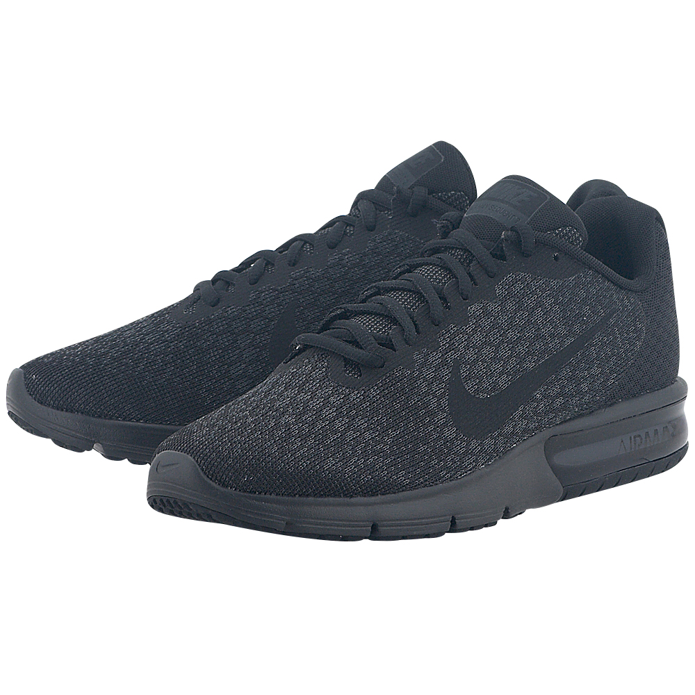 Nike – Nike Men's Air Max Sequent 2 Running Shoe 852461-015 – ΜΑΥΡΟ