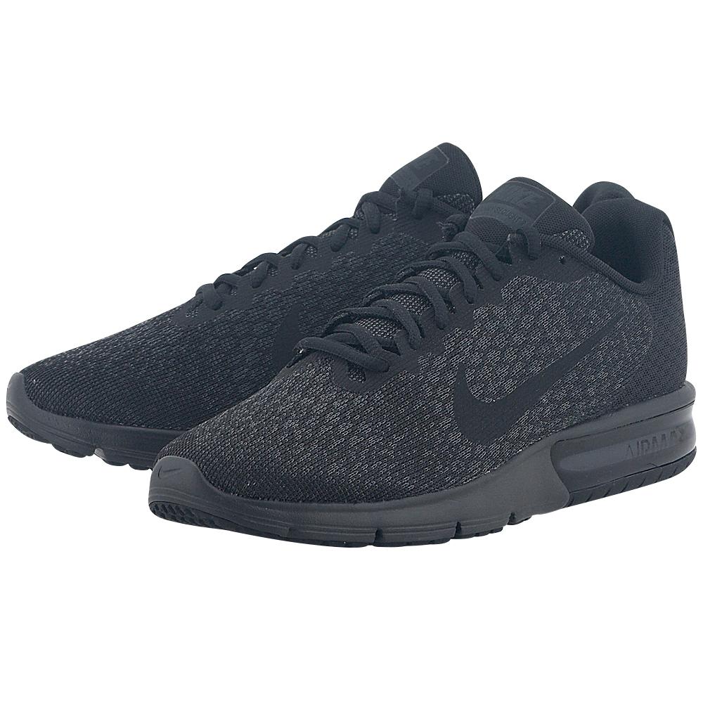 Nike - Nike Men's Air Max Sequent 2 Running Shoe 852461-015 - ΜΑΥΡΟ