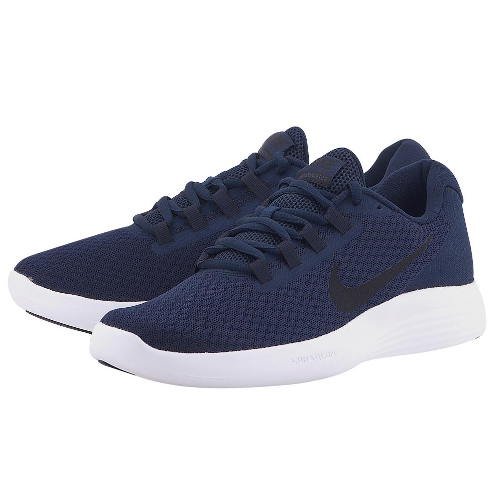 Nike – Nike LunarConverge Running 852462-405 – ΜΠΛΕ ΣΚΟΥΡΟ