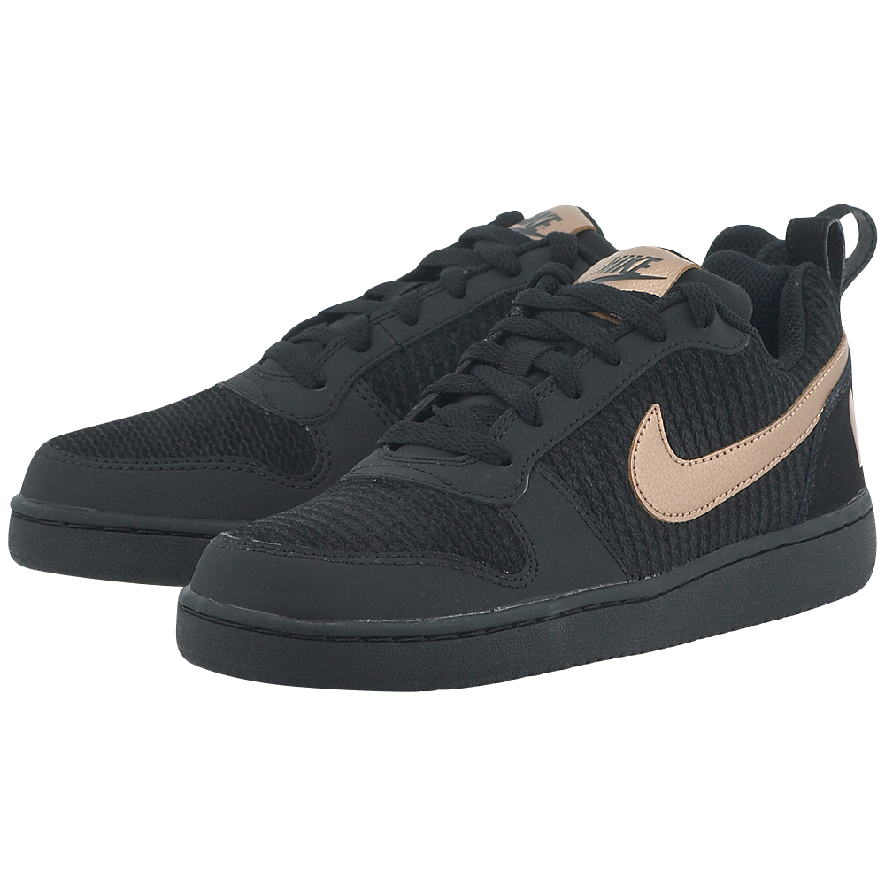 Nike – Nike Court Borough Low Premium Shoe 861533002-3 – ΜΑΥΡΟ