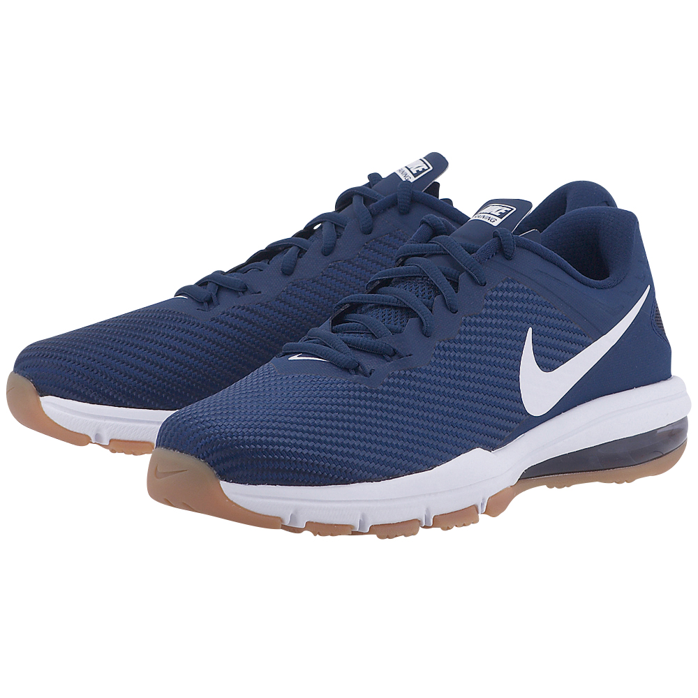 Nike – Nike Men's Air Max Full Ride TR 1.5 Training Shoe 869633-414 – ΜΠΛΕ ΣΚΟΥΡΟ