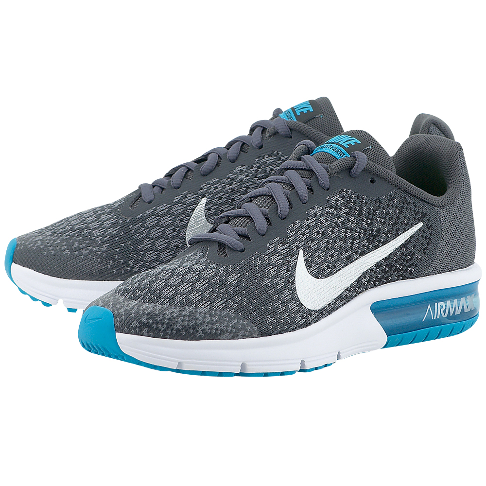 Nike - Nike Air Max Sequent 2 (GS) Running 869993-007 - ΓΚΡΙ ΣΚΟΥΡΟ
