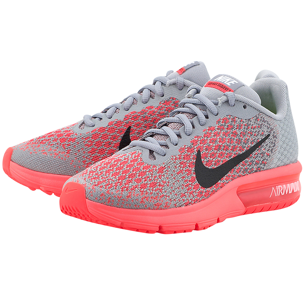 Nike – Nike Air Max Sequent 2 (GS) Running 869994-003 – ΓΚΡΙ/ΡΟΖ