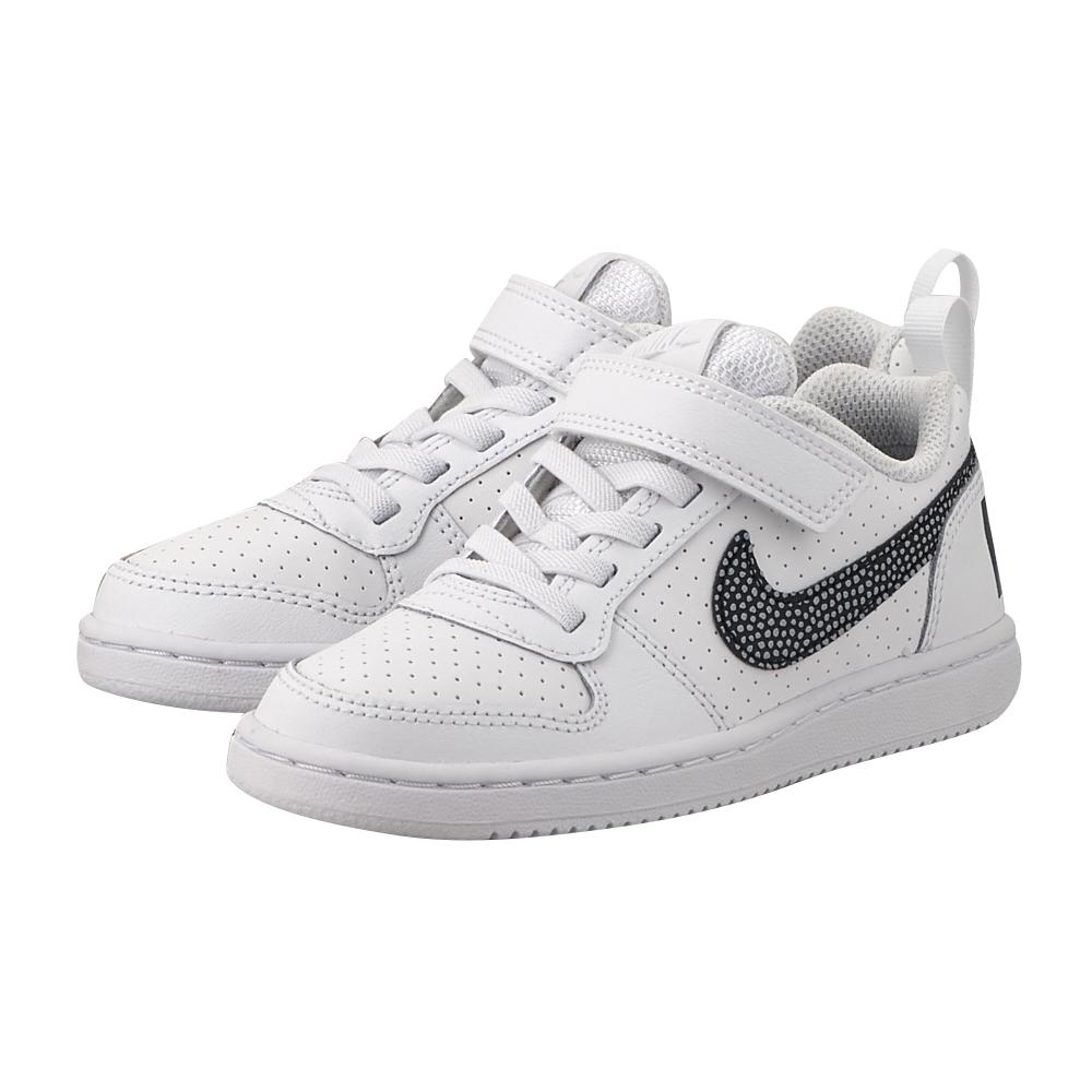 Nike - Nike Court Borough Low (PSV) 870025-103 - ΛΕΥΚΟ