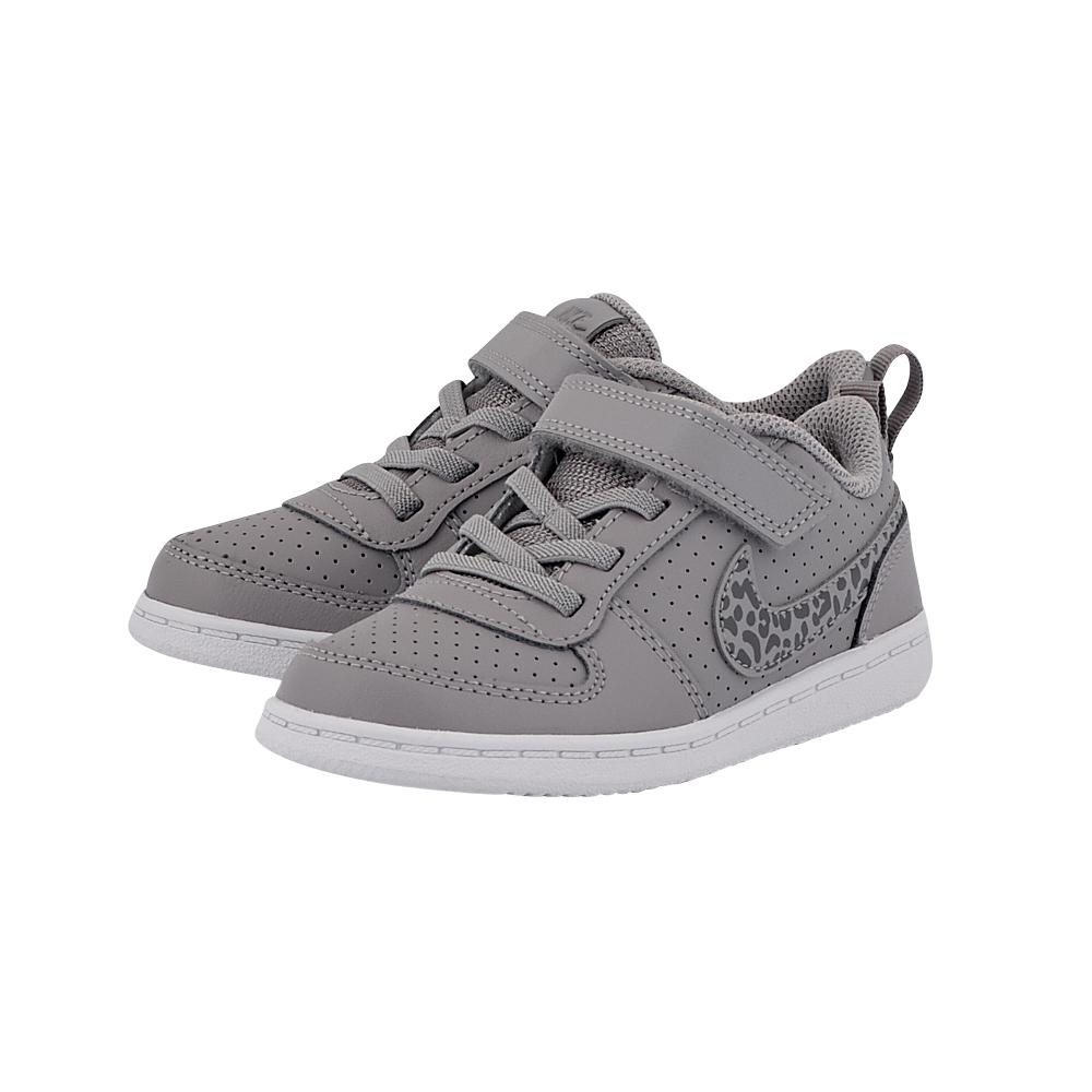 Nike - Nike Court Borough Low (TDV) Toddler 870030-002 - ΓΚΡΙ ΣΚΟΥΡΟ