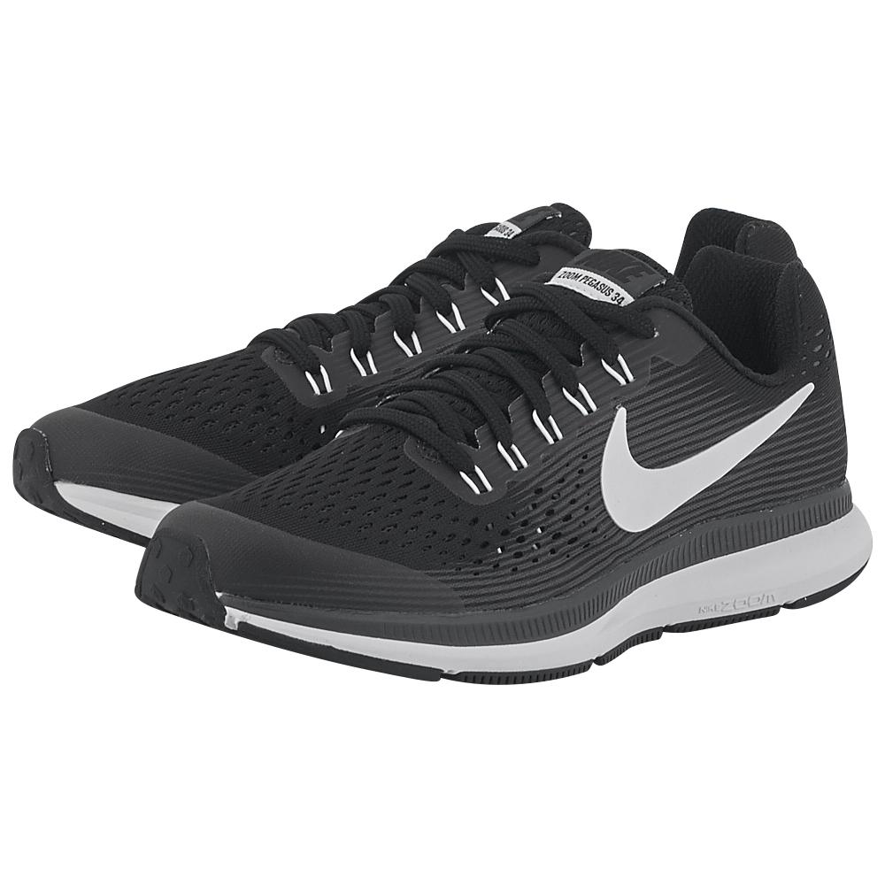 Nike - Nike Zoom Pegasus 34 (GS) Running 881953-002 - ΜΑΥΡΟ