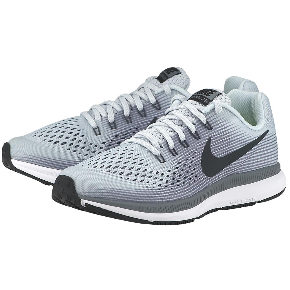 Nike - Nike Zoom Pegasus 34 (GS) Running 881953-004 - ΓΚΡΙ