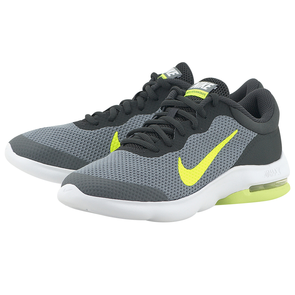 Nike - Nike Air Max Advantage (GS) Running 884524-001 - ΓΚΡΙ/ΜΑΥΡΟ