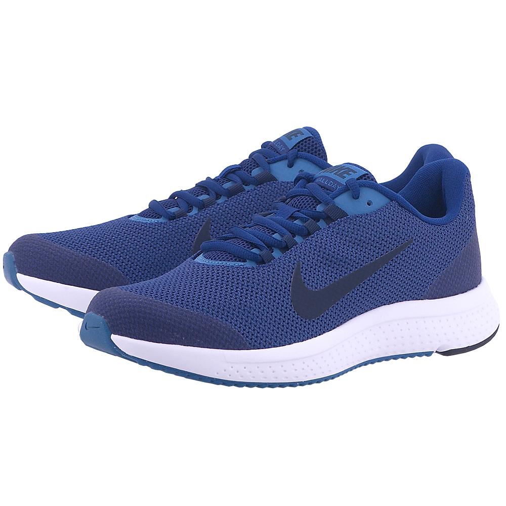 Nike - Nike Men's RunAllDay Running Shoe 898464-402 - ΜΠΛΕ ΣΚΟΥΡΟ