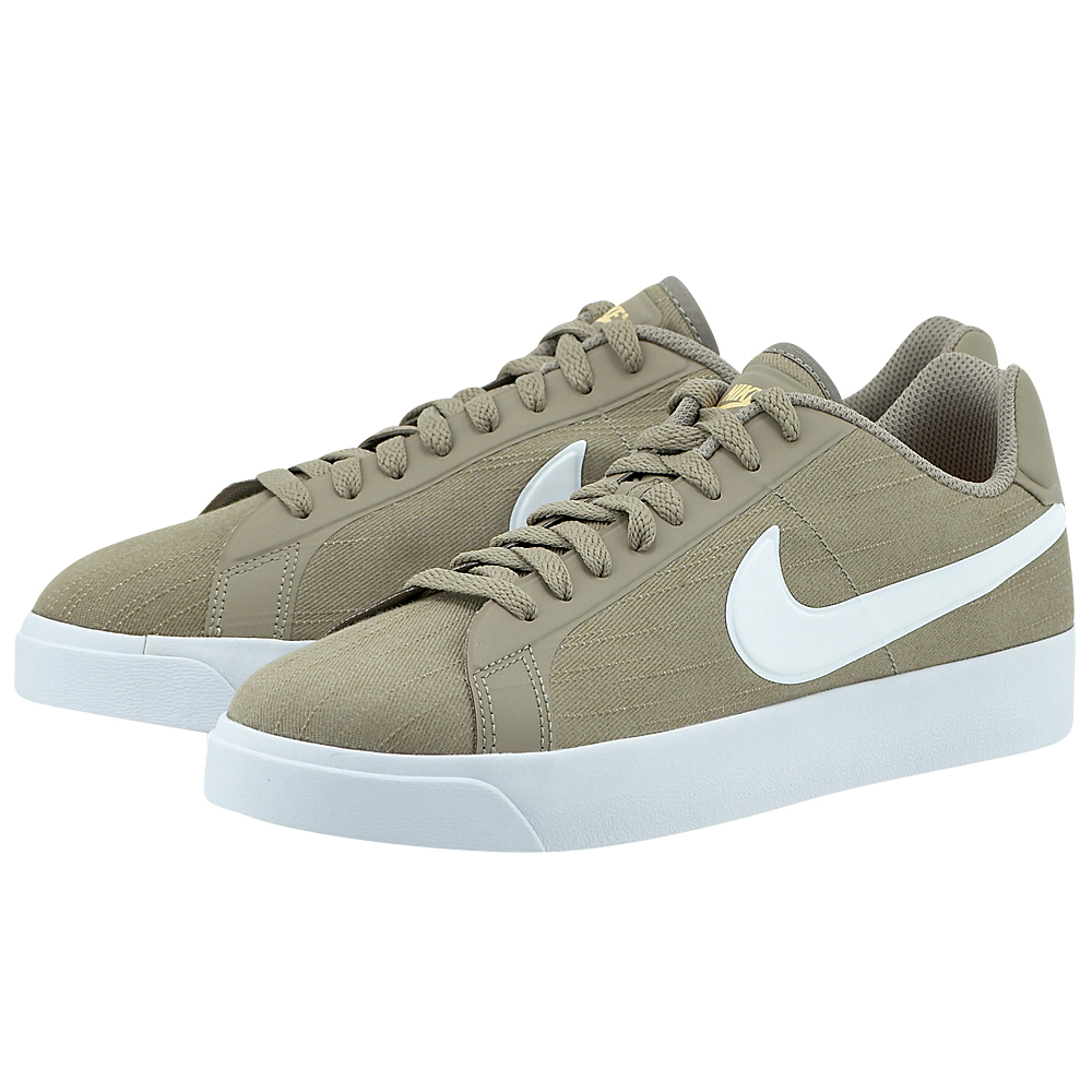 Nike - Nike Court Royale Low Canvas 902810-200 - ΧΑΚΙ