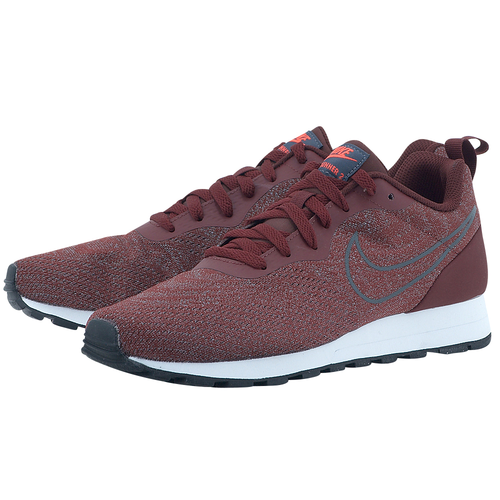 Nike - Nike Men's MD Runner 2 Mesh Shoe 902815-601 - ΜΠΟΡΝΤΩ