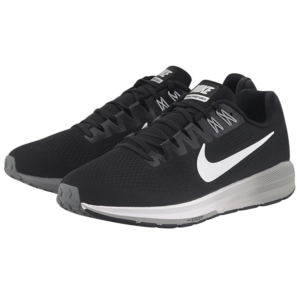 Nike – Nike Air Zoom Structure 21 Running 904695-001 – ΜΑΥΡΟ