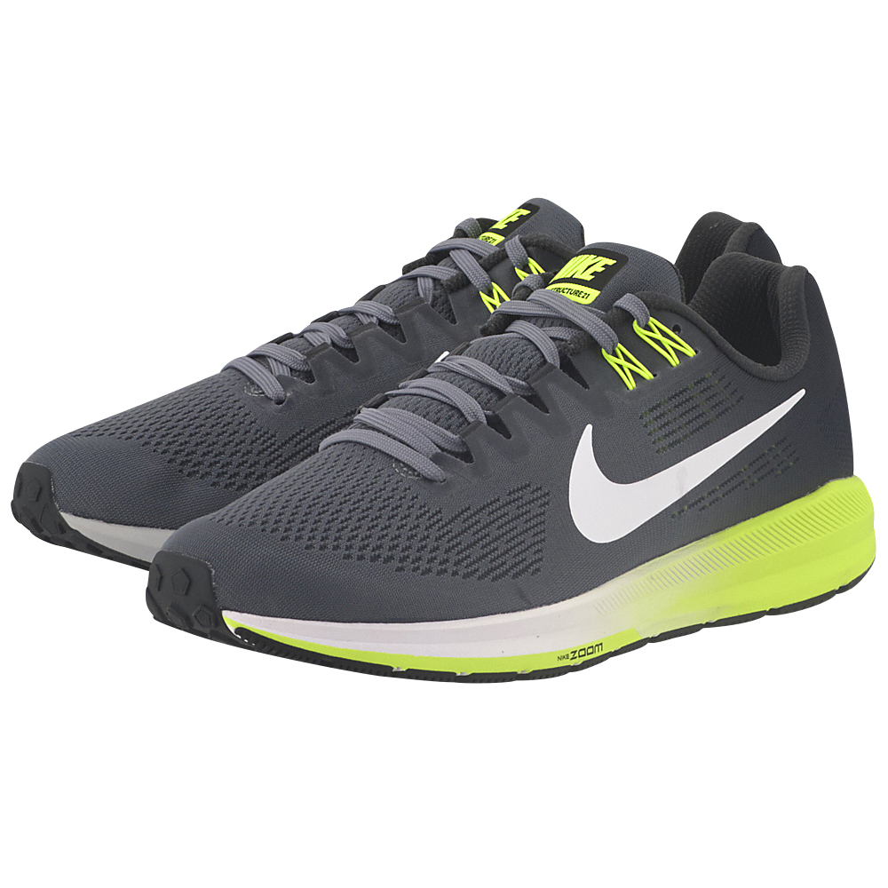 Nike – Nike Air Zoom Structure 21 Running 904695-007 – ΓΚΡΙ