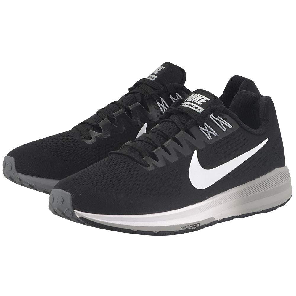 Nike – Nike Air Zoom Structure 21 Running 904701-001 – ΜΑΥΡΟ