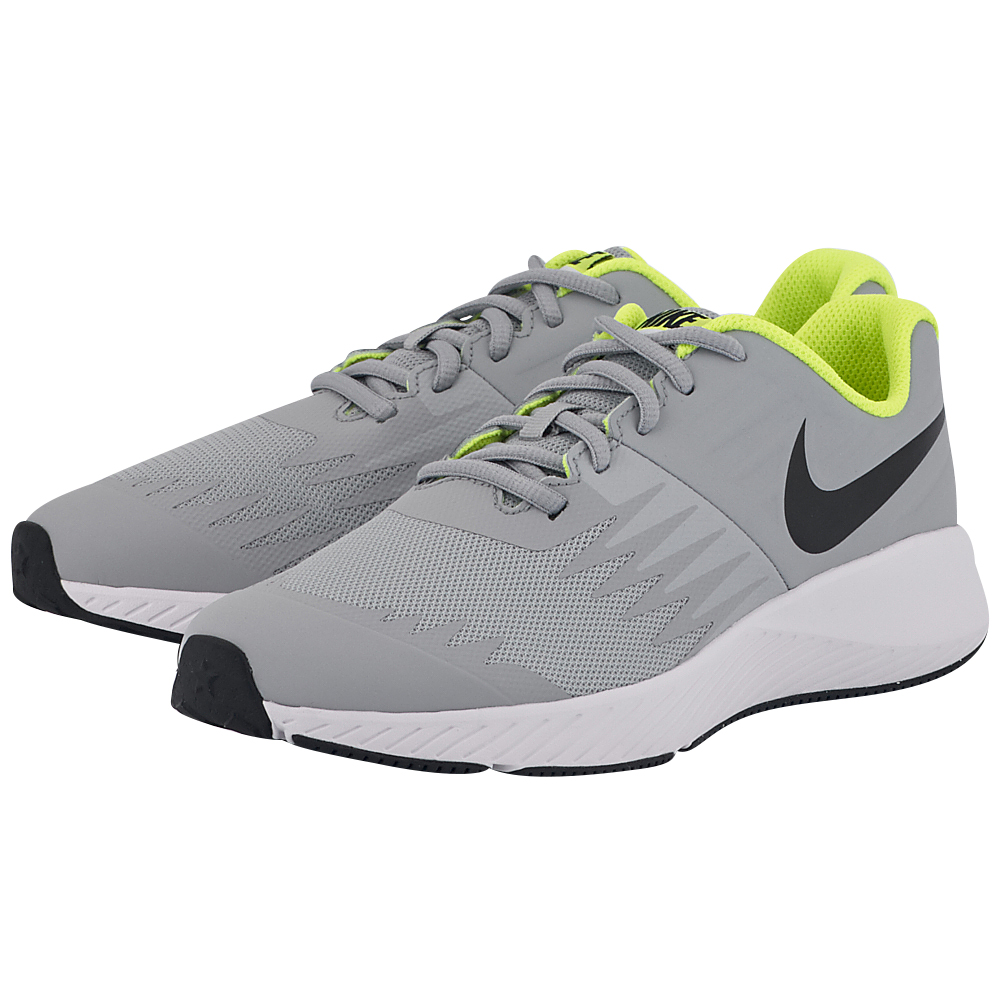 Nike - Nike Star Runner (GS) Running 907254-002 - ΓΚΡΙ