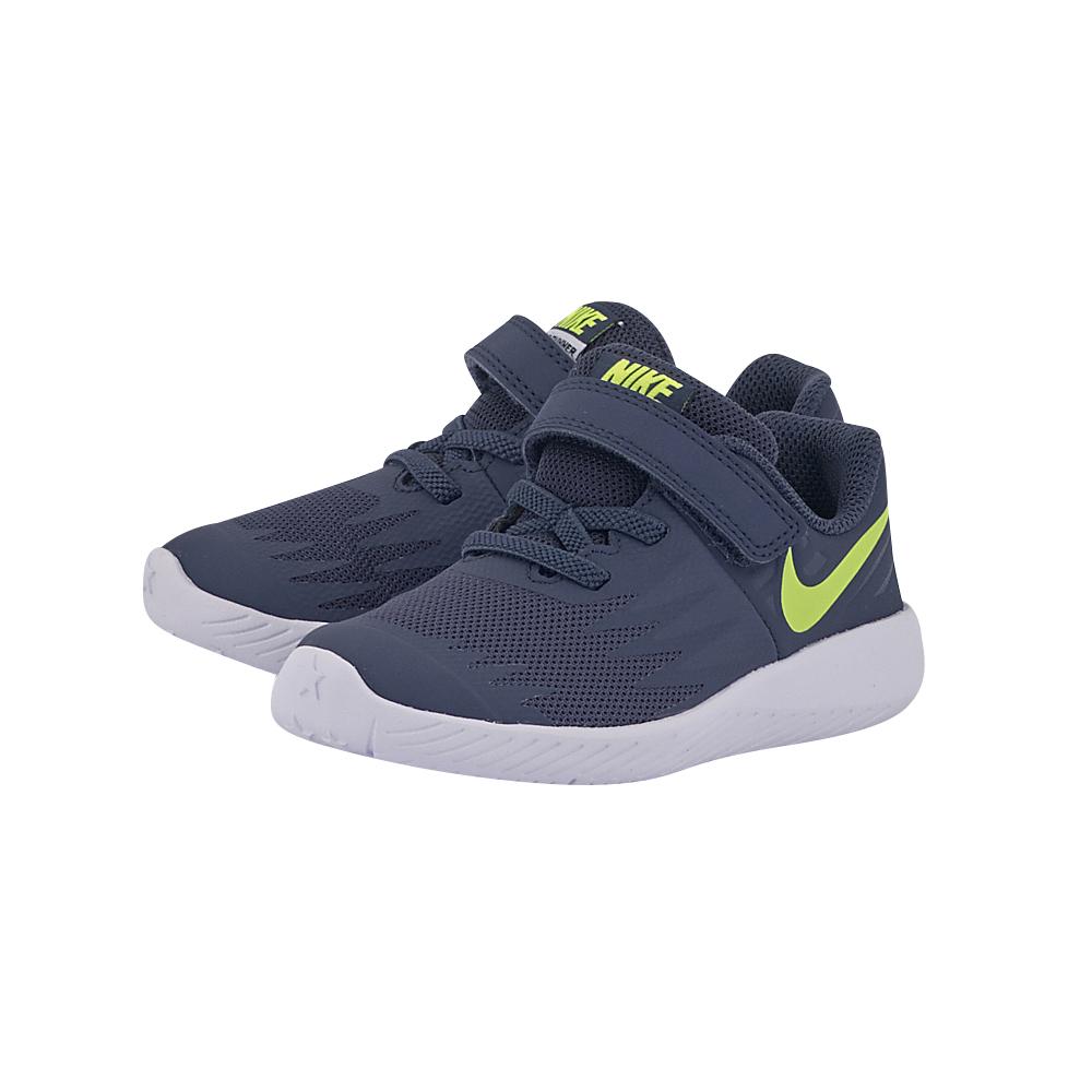 Nike - Nike Star Runner (TDV) Toddler 907255-404 - ΜΠΛΕ ΣΚΟΥΡΟ
