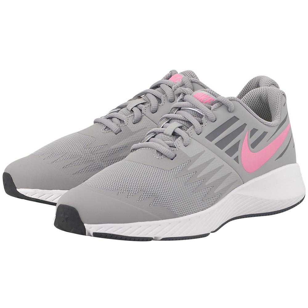 Nike - Nike Star Runner (GS) Running 907257-002 - ΓΚΡΙ