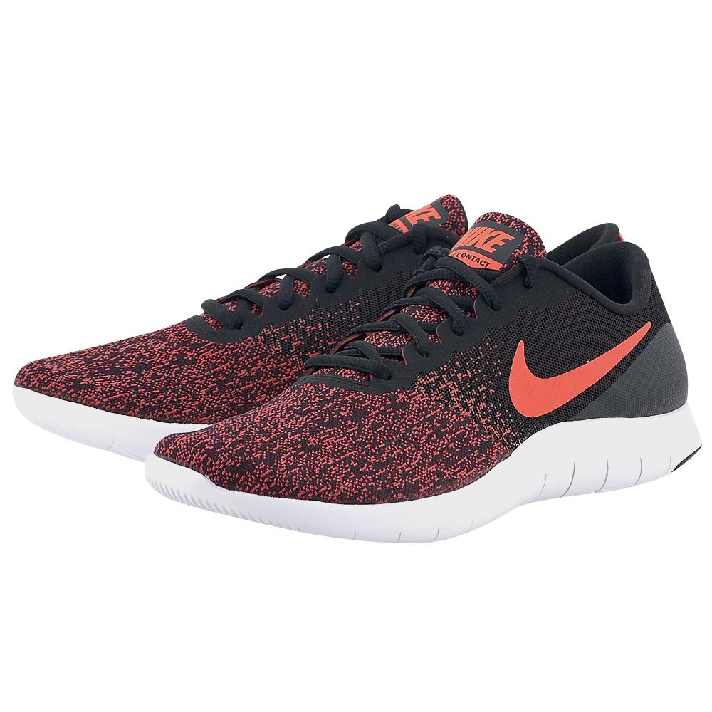 Nike – Nike Flex Contact Running 908983-004 – ΜΑΥΡΟ/ΜΠΟΡΝΤΩ