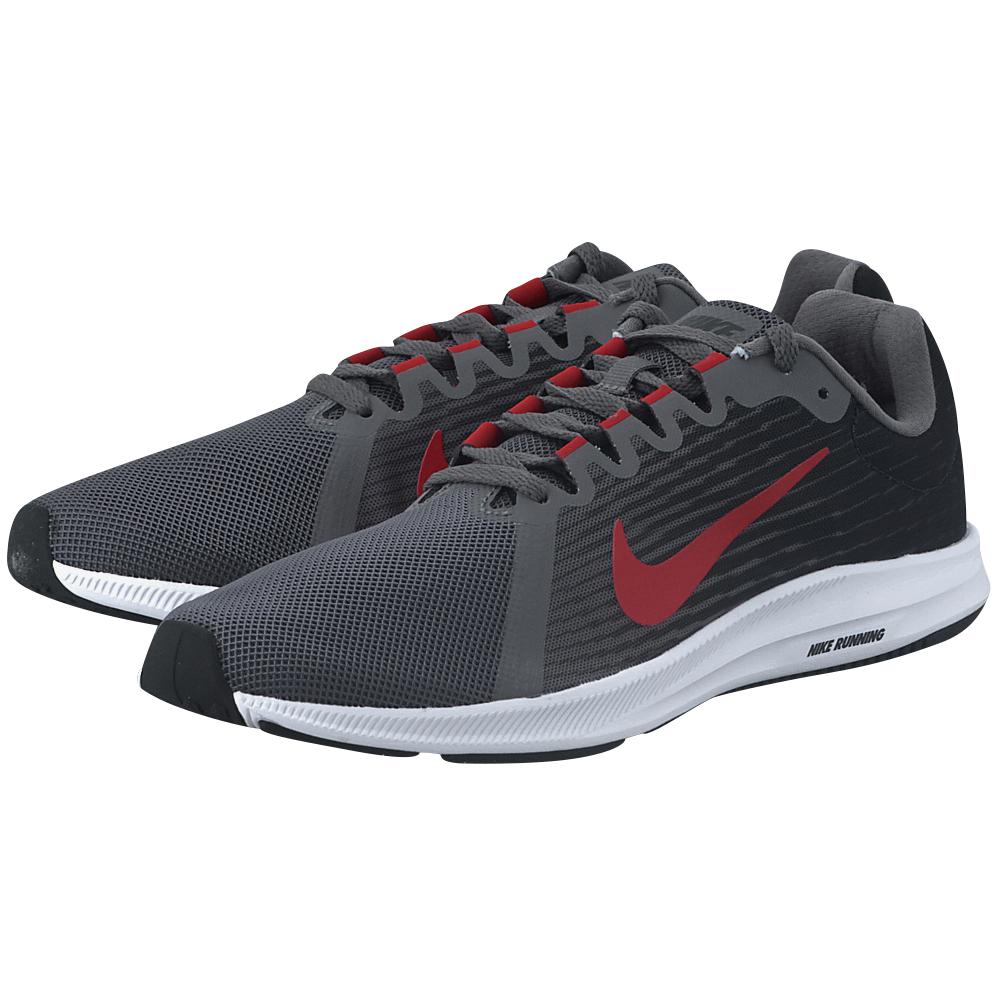 Nike - Nike Downshifter 8 Running 908984-005 - ΓΚΡΙ ΣΚΟΥΡΟ