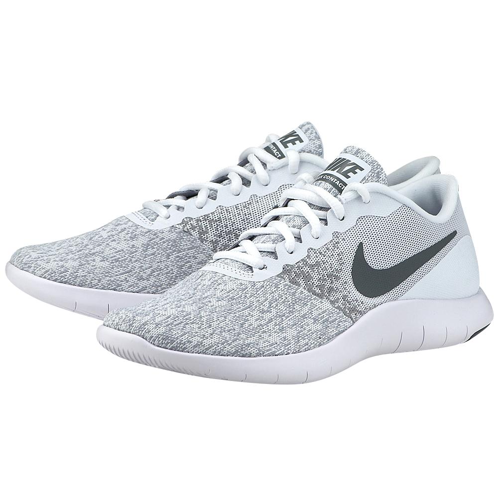 Nike – Nike Flex Contact Running 908995-100 – ΛΕΥΚΟ