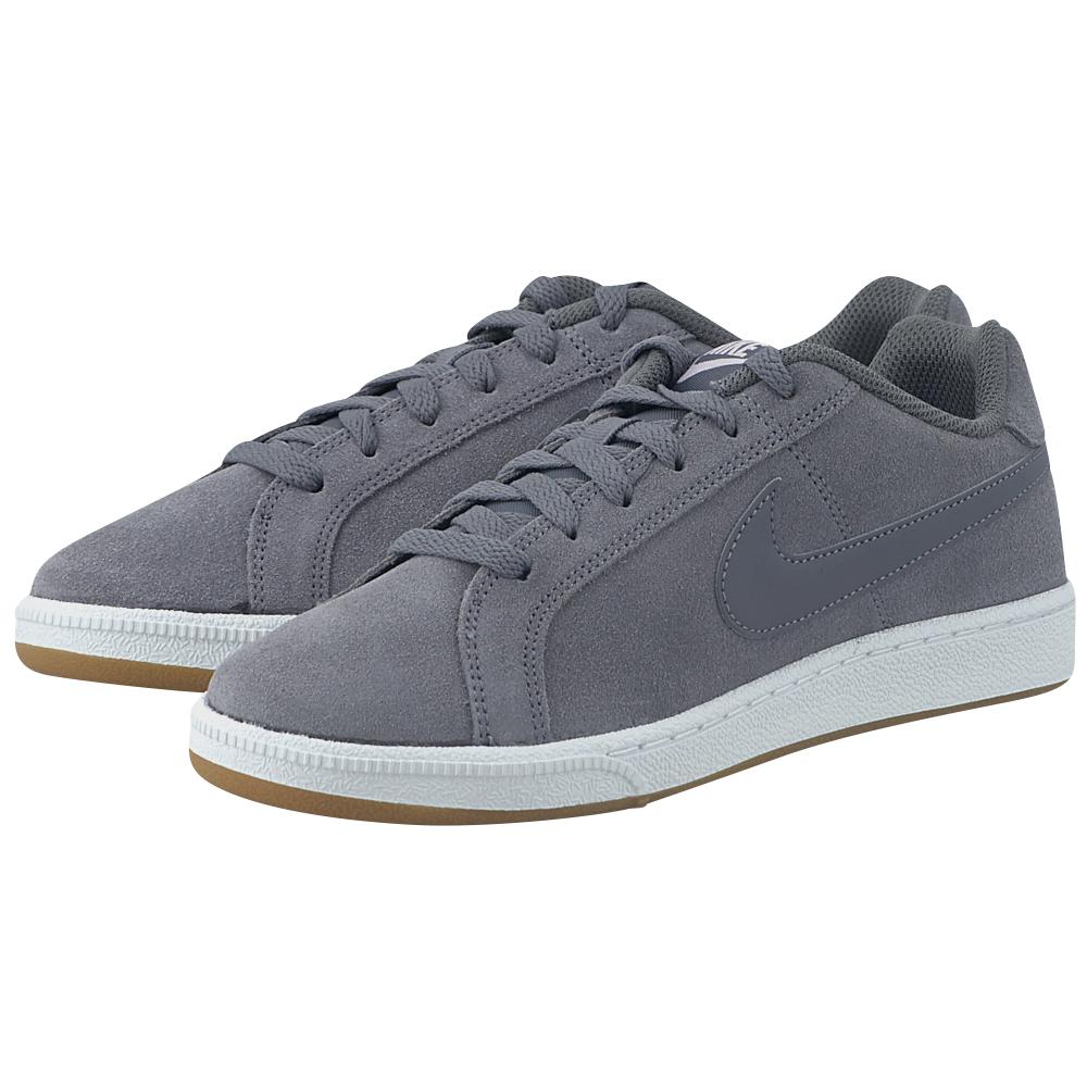 Nike - Nike Court Royale Suede 916795-003 - ΓΚΡΙ ΣΚΟΥΡΟ