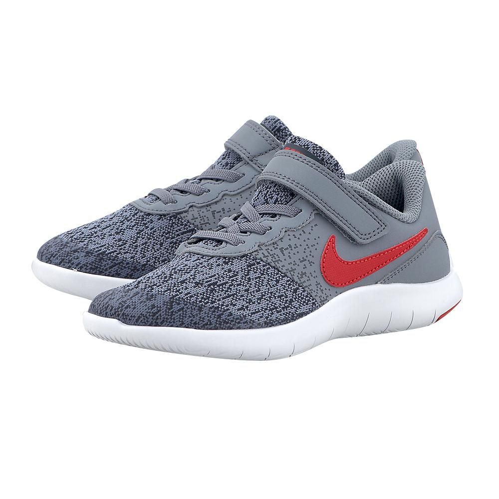 Nike – Nike Flex Contact (PS) 917934-003 – ΓΚΡΙ ΣΚΟΥΡΟ