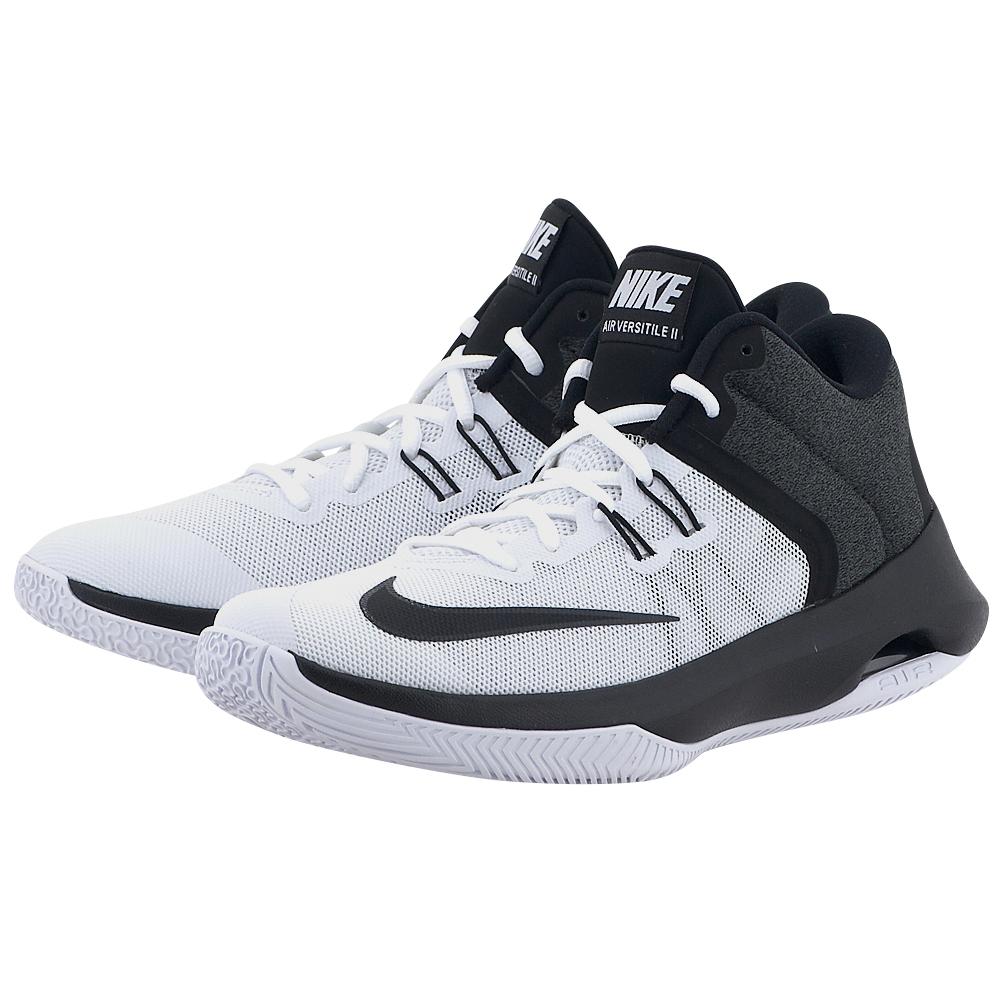Nike – Nike Men's Air Versitile II Basketball Shoe 921692-100 – ΛΕΥΚΟ/ΜΑΥΡΟ