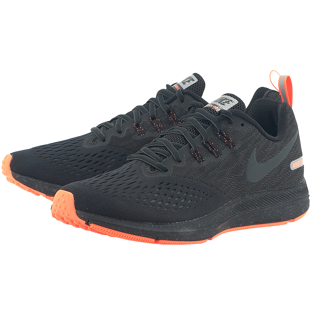 Nike - Nike Men's Air Zoom Winflo 4 Shield 921704-001 - ΜΑΥΡΟ