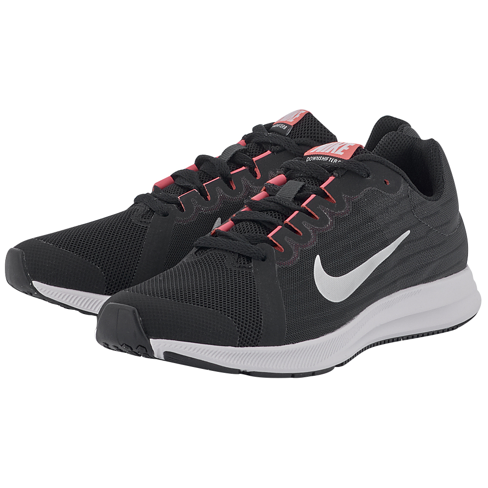 Nike - Nike Downshifter 8 (GS) Running 922855-001 - ΜΑΥΡΟ